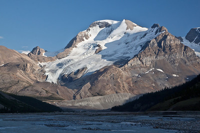 Mt. Athabasca from the Athabasca River