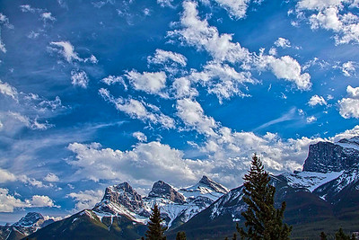 """Three Sisters"" - Canmore, Alberta"