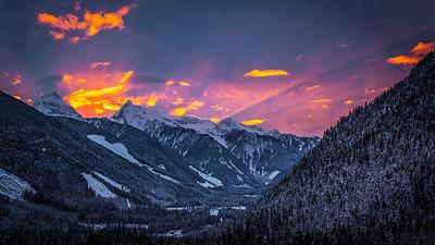 Sunset Panorama - January 2016