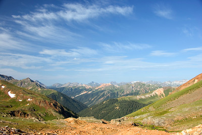 Hurricane Pass near Silverton Colorado