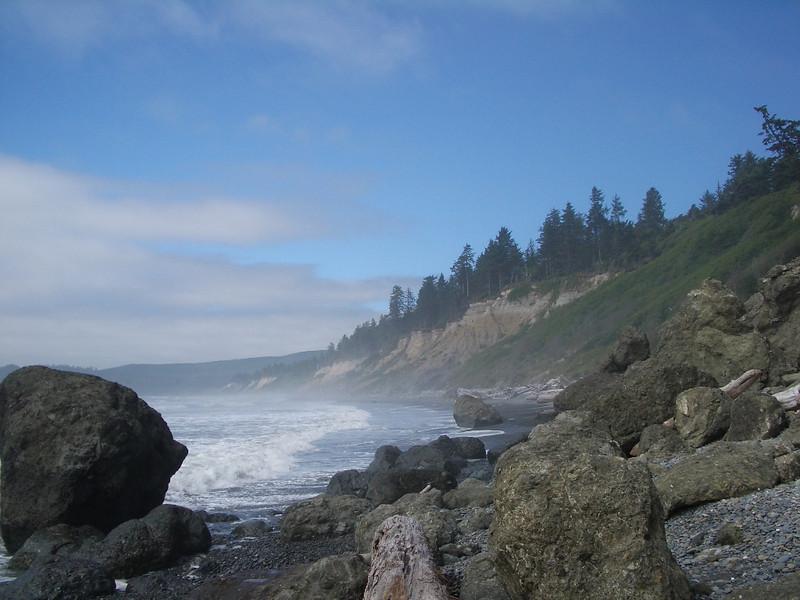 Rugged Coast of Washington State