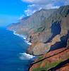 Na Pali Coast From Helicopter 2; Kauai, Hawaii