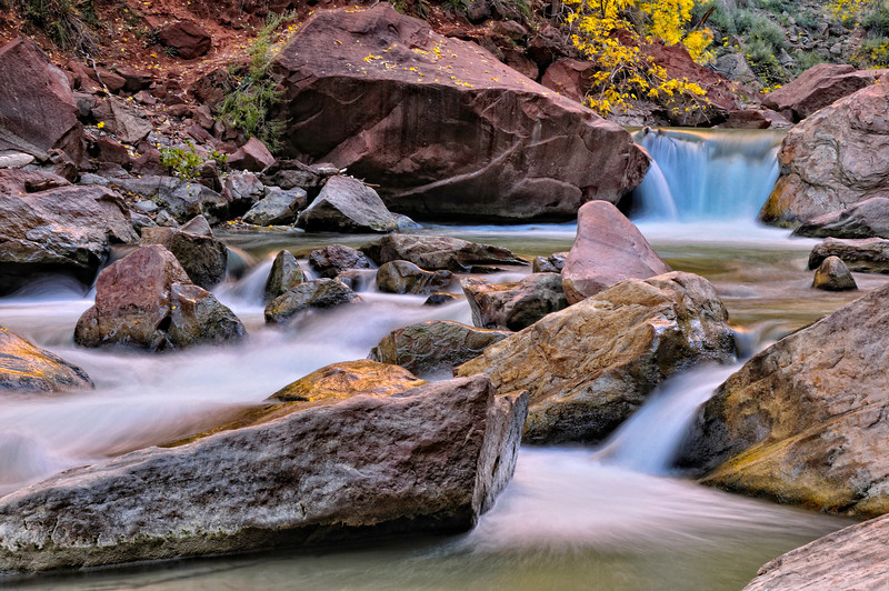 Autumn on the Virgin River 2; Zion National Park, UT
