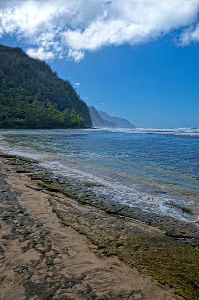 Na Pali Coast From Ke'e Beach; Kauai, Hawaii