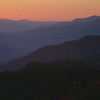 Blue Ridge Parkway sunset.