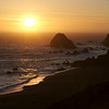 Sonoma coast sunset.