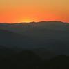 Blue Ridge Parkway sunset.
