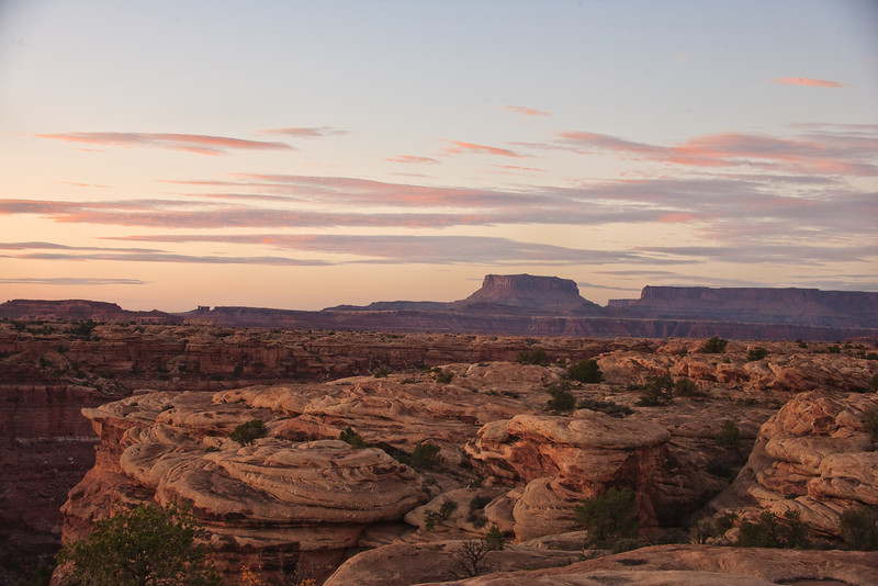 Sunset from Slick Rock Trail.