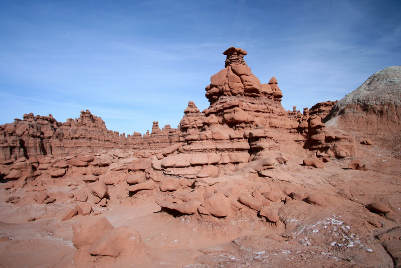Hoodos in Goblin Valley State Park near Hanksvillle and Green River, Utah.