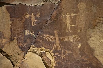 Legend Rock Petroglyph site near Thermopolis Wyoming.