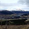 Panorama Voss.  Bilde tatt med iphone.