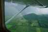 Flying thru a summer rain storm in a Cessna