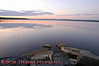 Onondaga Lake before sunrise.