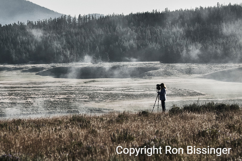 Lifting Fog, Lamar Valley