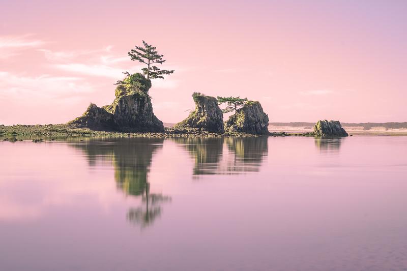 Four Brothers - Siletz Bay, Oregon 2017