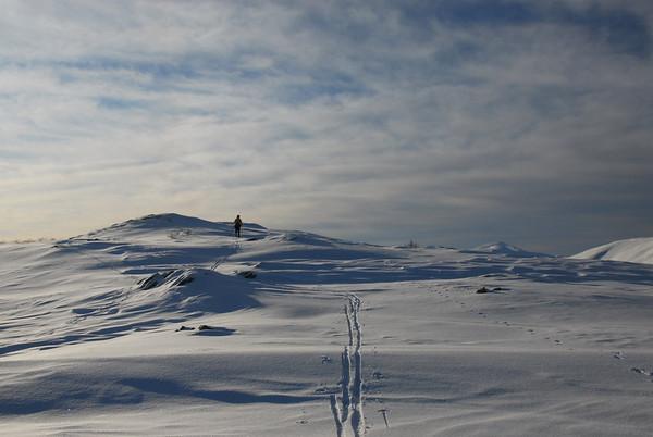 Vinterlandskap..