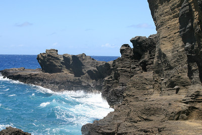 Rock Formation near Halona Blowhole
