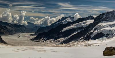 Jungfraunoch glacier, CH