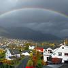Full regnboge over Voss