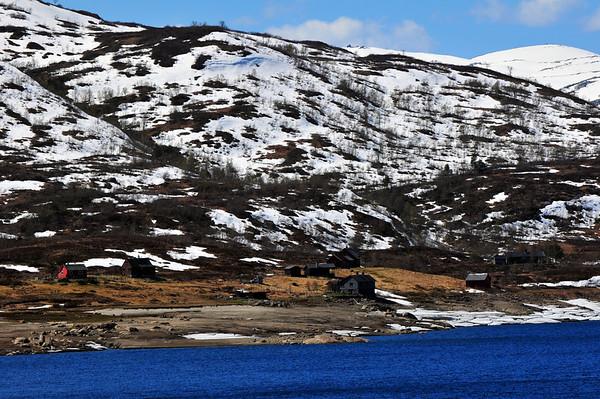 """Stølane """"Øyaset"""" 16.05.2009."""