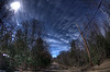 Dirt road<br /> 10mm fish eye HDR (3 shots)