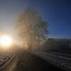 På veg opp til sola..17.11.2011
