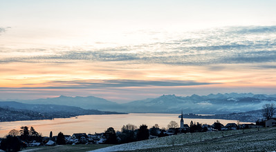 Dawn over Zurichsee