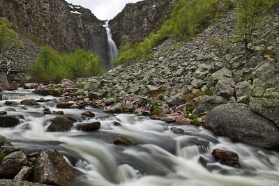 Njupeskärsfallet, Sveriges högsta vattenfall