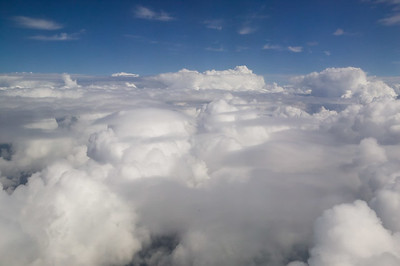 CAV55394 - Paesaggio sopra le nuvole