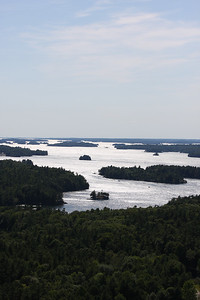 Thousand Islands- Looking toward Kingston, Canada