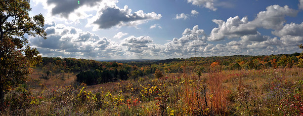SNR Crescent Knoll Fall Panorama