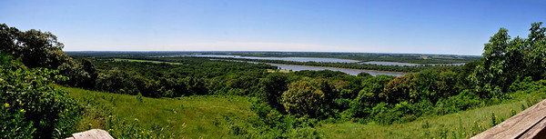 Twin Mounds Panorama - Pere Marquette