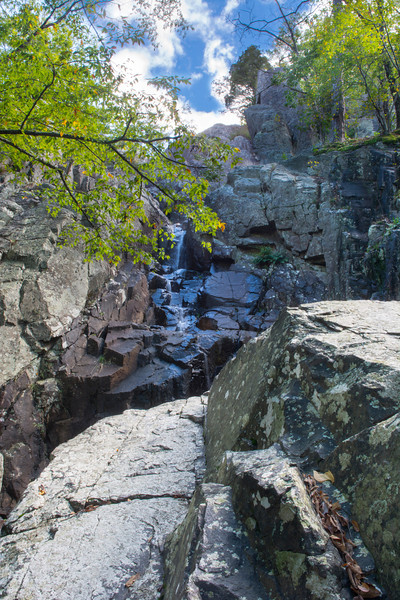 Mina Sauk Falls (very light stream).