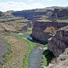 Palouse River Canyon below the falls.  Eastern Washington