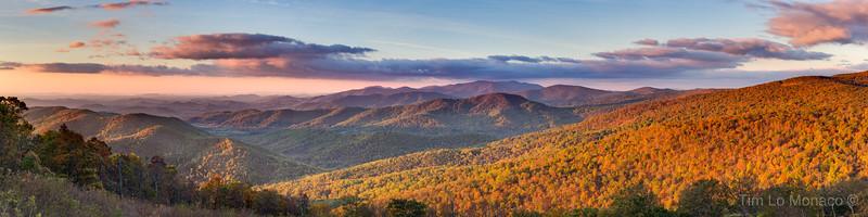 Range View Overlook Sunrise