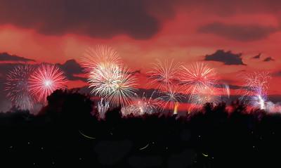 EM130282 fireworks