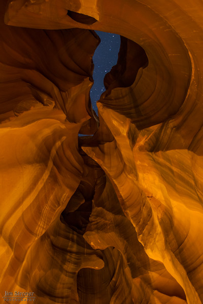 Upper Antelope Canyon - Light Painting