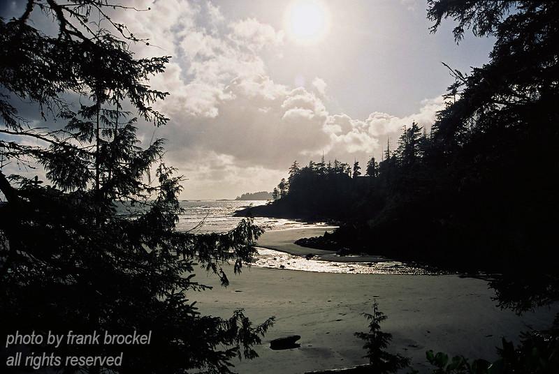 Pacific Coast south of Tofino on Vancouver Island, Canada
