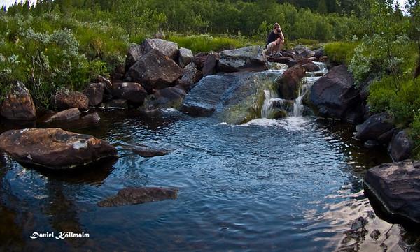 Shooting downstream