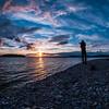 Making a sunset shot