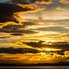 Sunset over Svegssjön