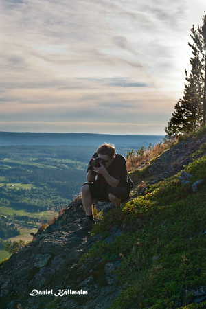 Photographer near the edge
