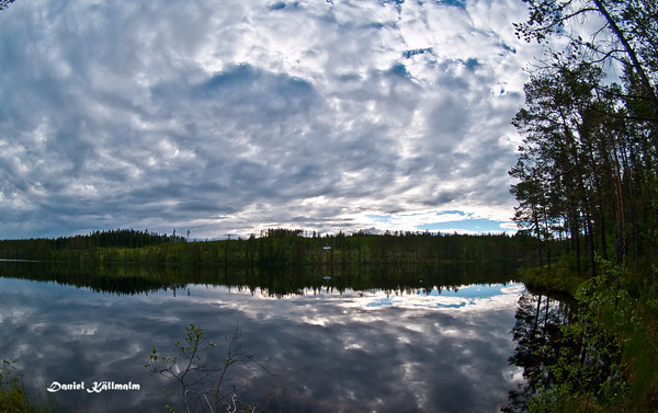 A view of Gråsjön