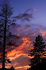 This is a SIerra Nevada sunset composed of several pictures.