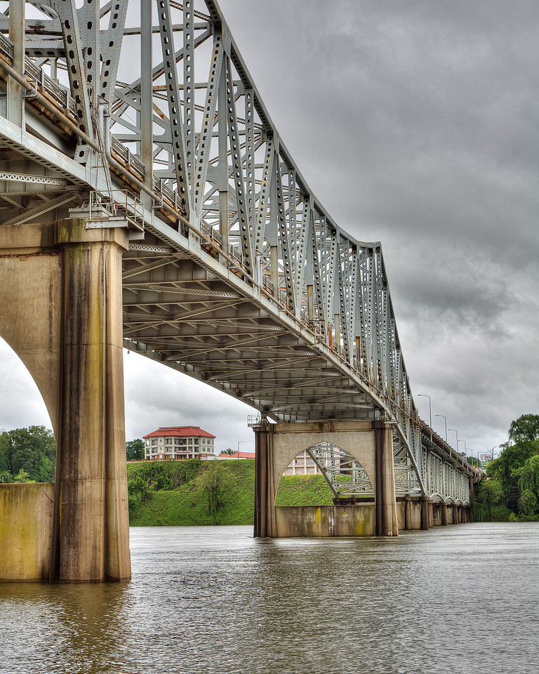 O'neal Bridge in Northwest Alabama