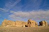 Rock formation near Sky City, the Acoma Pueblo, New Mexico