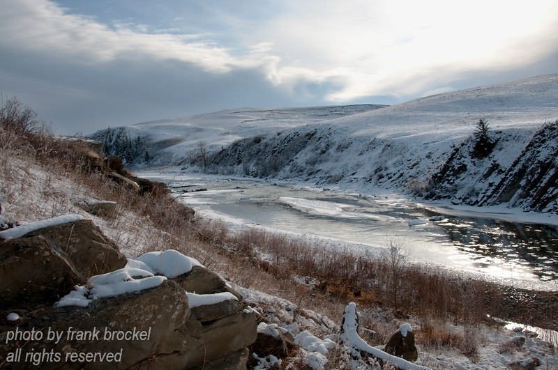 The Old Man River in Southern Alberta