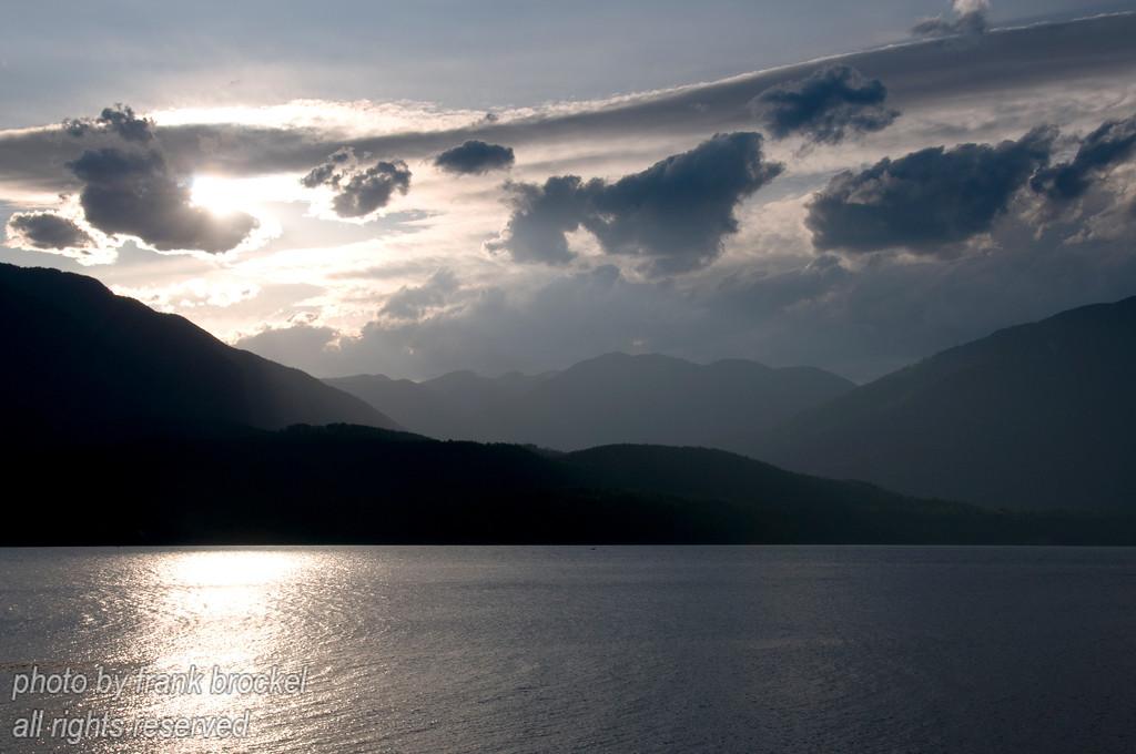 Evening at Kootenay Lake, B.C.