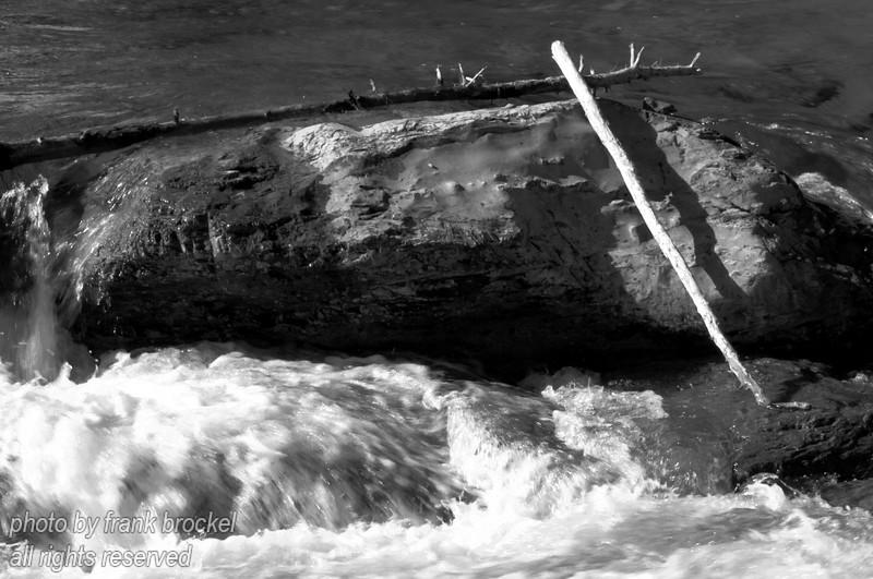 Part of the Elbow Falls, Alberta
