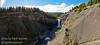 Ram River River Falls in West Central Alberta